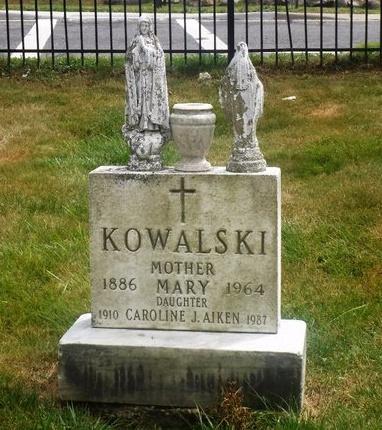 AIKEN, CAROLINE J - Suffolk County, New York | CAROLINE J AIKEN - New York Gravestone Photos
