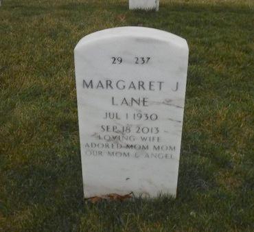 LANE, MARGARET J - Suffolk County, New York | MARGARET J LANE - New York Gravestone Photos