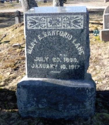 SANTURIO LANE, MARY E - Suffolk County, New York | MARY E SANTURIO LANE - New York Gravestone Photos
