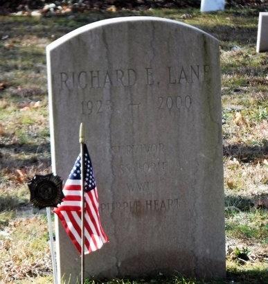 LANE (WWII), RICHARD E - Suffolk County, New York   RICHARD E LANE (WWII) - New York Gravestone Photos