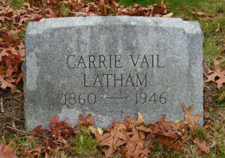 VAIL LATHAM, CARRIE - Suffolk County, New York | CARRIE VAIL LATHAM - New York Gravestone Photos