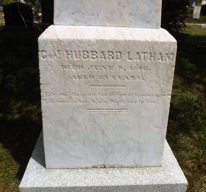 LATHAM, HUBBARD - Suffolk County, New York   HUBBARD LATHAM - New York Gravestone Photos