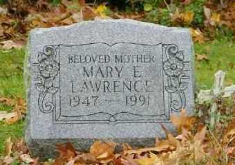 LAWRENCE, MARY E. - Suffolk County, New York | MARY E. LAWRENCE - New York Gravestone Photos