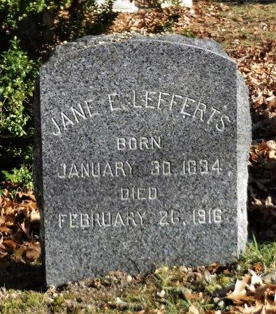 LEFFERTS, JANE E - Suffolk County, New York   JANE E LEFFERTS - New York Gravestone Photos