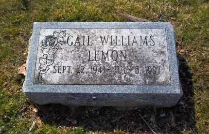WILLIAMS, GAIL - Suffolk County, New York | GAIL WILLIAMS - New York Gravestone Photos