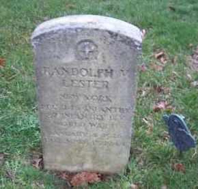 LESTER (WWII), RANDOLPH - Suffolk County, New York   RANDOLPH LESTER (WWII) - New York Gravestone Photos