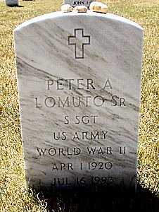 LOMUTO, PETER A., SR. - Suffolk County, New York | PETER A., SR. LOMUTO - New York Gravestone Photos