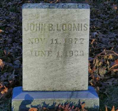 LOOMIS, JOHN B - Suffolk County, New York | JOHN B LOOMIS - New York Gravestone Photos