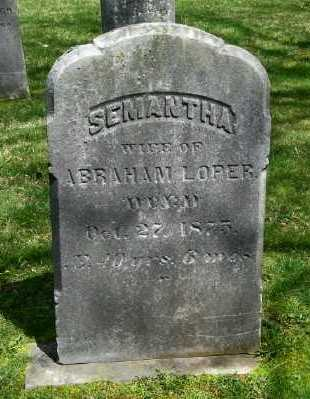 LOPER, SEMANTHA - Suffolk County, New York | SEMANTHA LOPER - New York Gravestone Photos