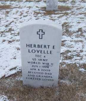 LOVELLE (WWII), HERBERT E - Suffolk County, New York | HERBERT E LOVELLE (WWII) - New York Gravestone Photos