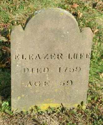 LUCE, ELEAZER - Suffolk County, New York | ELEAZER LUCE - New York Gravestone Photos