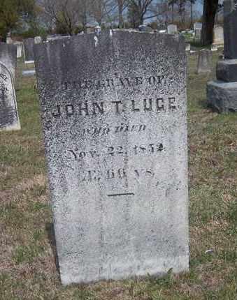 LUCE, JOHN T. - Suffolk County, New York   JOHN T. LUCE - New York Gravestone Photos