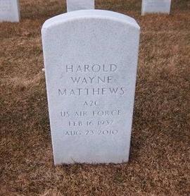 MATTHEWS, HAROLD WAYNE - Suffolk County, New York | HAROLD WAYNE MATTHEWS - New York Gravestone Photos