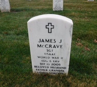 MCCRAVE (WWII), JAMES J - Suffolk County, New York | JAMES J MCCRAVE (WWII) - New York Gravestone Photos
