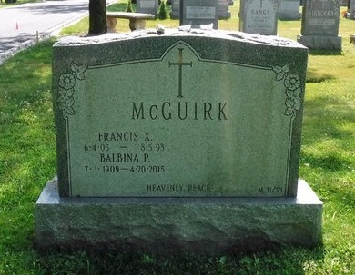 MCGUIRK, BALBINA P - Suffolk County, New York | BALBINA P MCGUIRK - New York Gravestone Photos