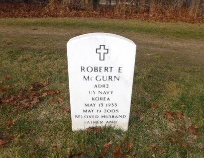 MCGURN (KOR), ROBERT E - Suffolk County, New York | ROBERT E MCGURN (KOR) - New York Gravestone Photos