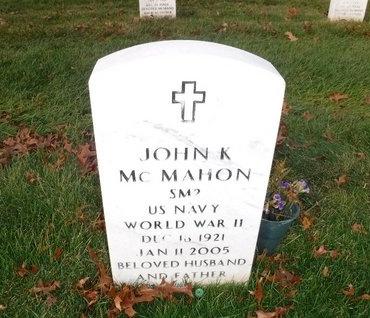 MCMAHON, JOHN K - Suffolk County, New York | JOHN K MCMAHON - New York Gravestone Photos