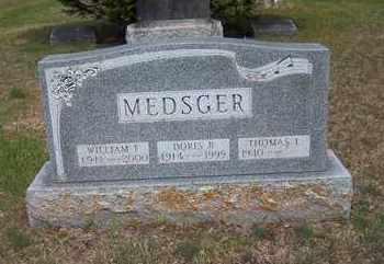 MEDSGER, WILLIAM F. - Suffolk County, New York | WILLIAM F. MEDSGER - New York Gravestone Photos