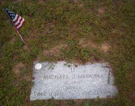 MEDUSKI, MICHAEL J. - Suffolk County, New York | MICHAEL J. MEDUSKI - New York Gravestone Photos