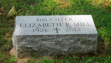 MILL, ELIZABETH B - Suffolk County, New York | ELIZABETH B MILL - New York Gravestone Photos