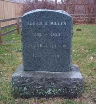 MILLER, ABRAM O. - Suffolk County, New York | ABRAM O. MILLER - New York Gravestone Photos