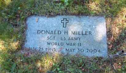 MILLER (WWII), DONALD H - Suffolk County, New York | DONALD H MILLER (WWII) - New York Gravestone Photos