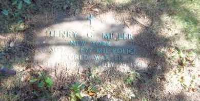 MILLER, HENRY G. - Suffolk County, New York | HENRY G. MILLER - New York Gravestone Photos