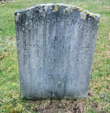 BENNETT MILLER, MATILDA A - Suffolk County, New York | MATILDA A BENNETT MILLER - New York Gravestone Photos