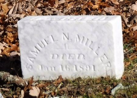 MILLER, SAMUEL N - Suffolk County, New York | SAMUEL N MILLER - New York Gravestone Photos