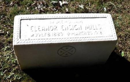 ENSIGN MILLS, ELEANOR - Suffolk County, New York | ELEANOR ENSIGN MILLS - New York Gravestone Photos
