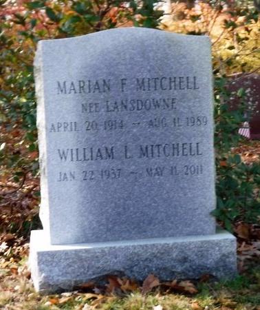 MITCHELL, MARIAN F - Suffolk County, New York | MARIAN F MITCHELL - New York Gravestone Photos