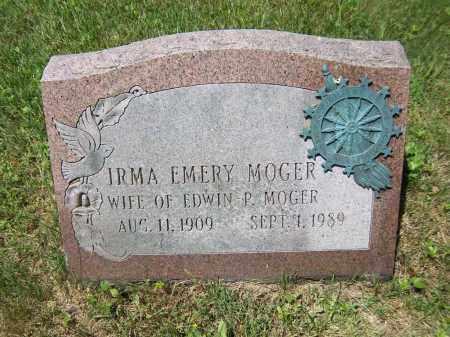 EMERY MOGER, IRMA - Suffolk County, New York | IRMA EMERY MOGER - New York Gravestone Photos