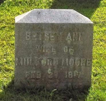 MOORE, BETSEY ANN - Suffolk County, New York | BETSEY ANN MOORE - New York Gravestone Photos