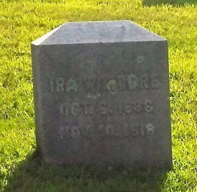 MOORE, IRA W - Suffolk County, New York | IRA W MOORE - New York Gravestone Photos
