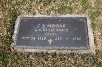 MOORE, J. L. - Suffolk County, New York | J. L. MOORE - New York Gravestone Photos