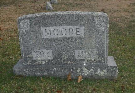 MOORE, EMMA B - Suffolk County, New York | EMMA B MOORE - New York Gravestone Photos
