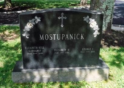 MOSTUPANICK, ELIZABETH KULL - Suffolk County, New York | ELIZABETH KULL MOSTUPANICK - New York Gravestone Photos