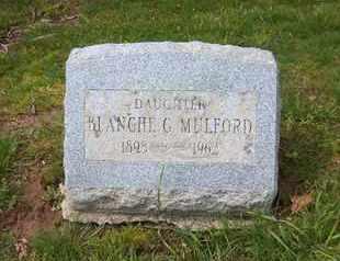 MULFORD, BLANCHE G - Suffolk County, New York | BLANCHE G MULFORD - New York Gravestone Photos