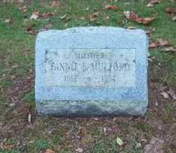 MULFORD, FANNIE B. - Suffolk County, New York | FANNIE B. MULFORD - New York Gravestone Photos
