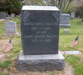 MULFORD, CLARA - Suffolk County, New York | CLARA MULFORD - New York Gravestone Photos