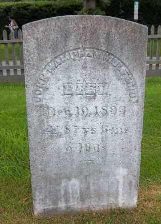 MULFORD, JOHN HAMPDEN - Suffolk County, New York   JOHN HAMPDEN MULFORD - New York Gravestone Photos