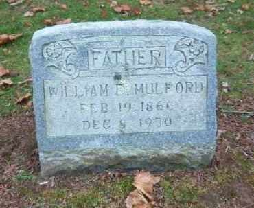 MULFORD, WILLIAM R. - Suffolk County, New York | WILLIAM R. MULFORD - New York Gravestone Photos