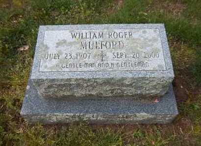 MULFORD, WILLIAM ROGER - Suffolk County, New York   WILLIAM ROGER MULFORD - New York Gravestone Photos