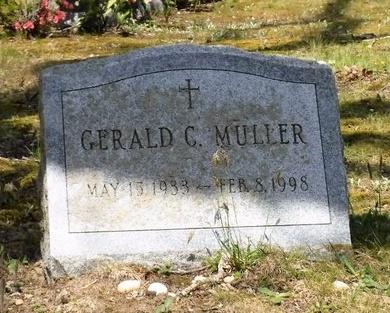 MULLER, GERALD C - Suffolk County, New York | GERALD C MULLER - New York Gravestone Photos