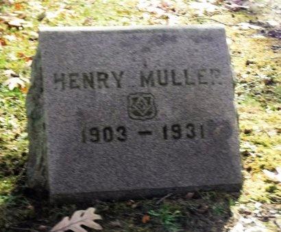 MULLER, HENRY - Suffolk County, New York | HENRY MULLER - New York Gravestone Photos