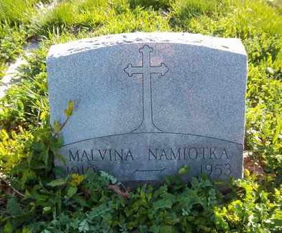NAMIOTKA, MALVINA - Suffolk County, New York | MALVINA NAMIOTKA - New York Gravestone Photos