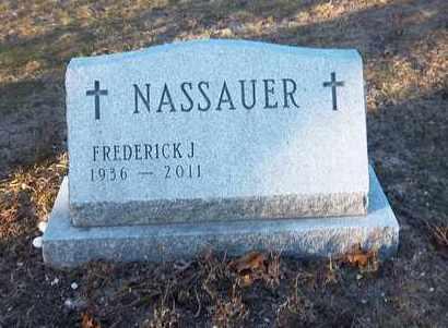 NASSAUER, FREDERICK J - Suffolk County, New York   FREDERICK J NASSAUER - New York Gravestone Photos