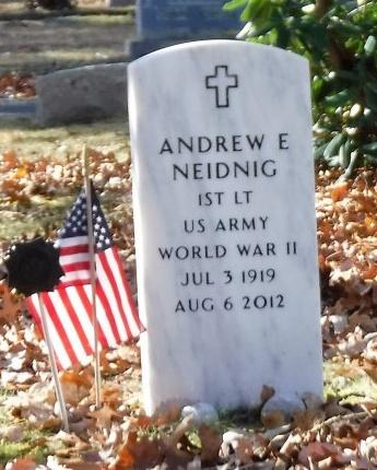 NEIDNIG, ANDREW E - Suffolk County, New York | ANDREW E NEIDNIG - New York Gravestone Photos