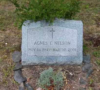 NELSON, AGNES E - Suffolk County, New York   AGNES E NELSON - New York Gravestone Photos