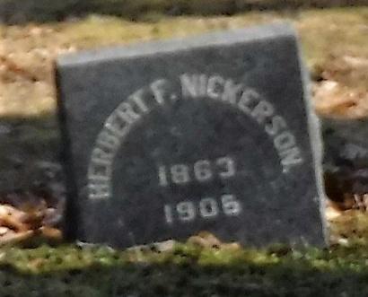 NICKERSON, HERBERT F - Suffolk County, New York   HERBERT F NICKERSON - New York Gravestone Photos